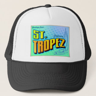 ST. TROPEZ TRUCKER HAT