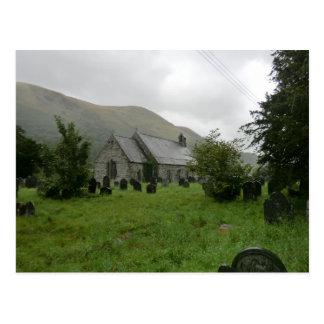 St Tydecho's Church in Llanmawddwy, Gwynedd Postcards