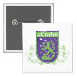 St. Urho Coat of Arms - Button