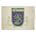 St. Urho Coat of Arms - Card
