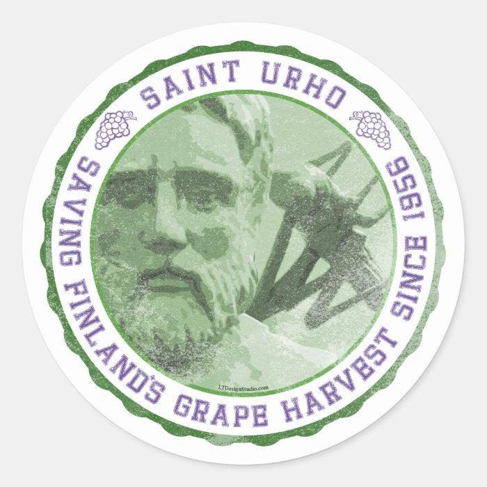 St. Urho Seal - Stickers