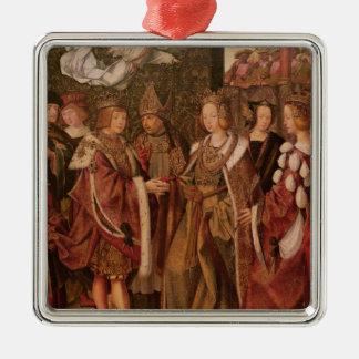 St. Ursula and Prince Etherius Christmas Ornament