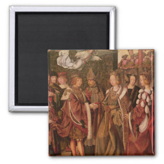 St. Ursula and Prince Etherius Square Magnet