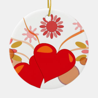 St. Valentine's day Christmas Ornament