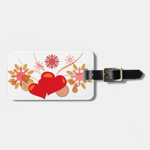 St. Valentine's day Travel Bag Tag