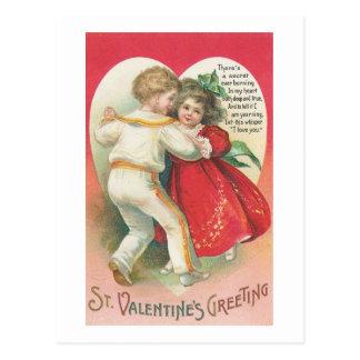 St. Valentine's Greeting (5) Postcard