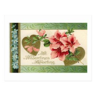 St. Valentine's Greeting Post Card
