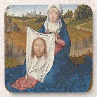 St. Veronica, c.1470-1475 (oil on panel) Drink Coaster