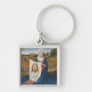 St. Veronica, c.1470-1475 (oil on panel) Keychain
