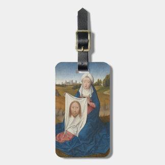 St. Veronica, c.1470-1475 (oil on panel) Luggage Tag