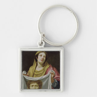 St. Veronica Holding the Holy Shroud Key Ring
