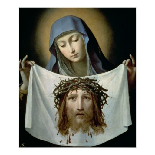 St. Veronica Poster