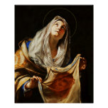St Veronica Veil Holy Face Shroud 03 Poster
