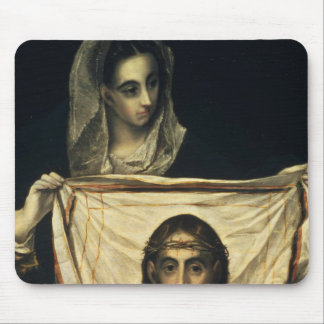 St.Veronica with the Holy Shroud Mouse Mat