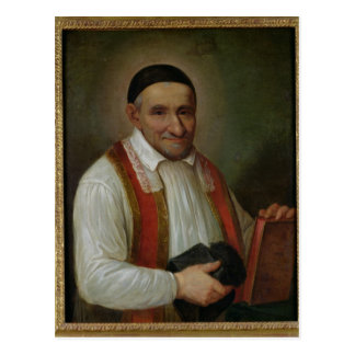 St. Vincent de Paul  1649 Postcard
