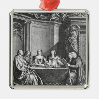St. Vincent de Paul  and Cardinal Jules Mazarin Christmas Ornament