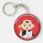 St. Vincent Ferrer Keychain