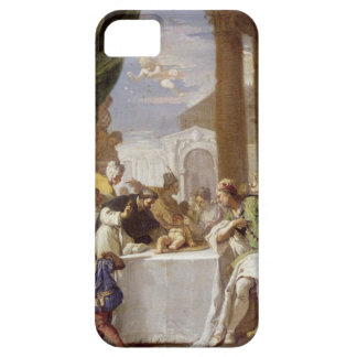 St. Vincent Ferrer performing a miracle iPhone 5 Covers