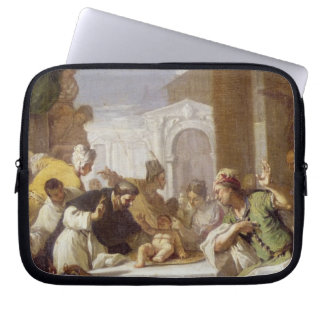 St. Vincent Ferrer performing a miracle Laptop Sleeve