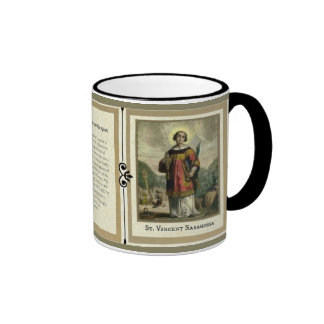 St. Vincent Saragossa Deacon Martyr Mug