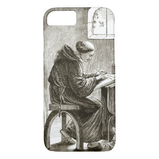 St. Vincent writing in his cell at Ferins, from 'T iPhone 8/7 Case