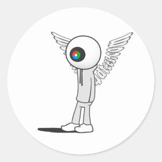 St. Vision Round Sticker