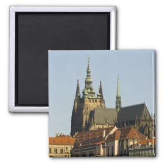 St. Vitus Cathedral and Prague Castle, one of Square Magnet