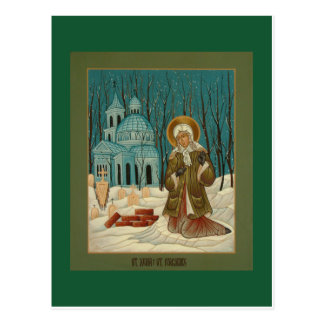 St. Xenia of St. Petersburg Prayer Card