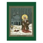 St. Xenia Prayer Card Post Card