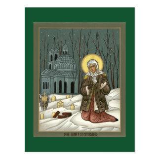 St. Xenia Prayer Card Postcards