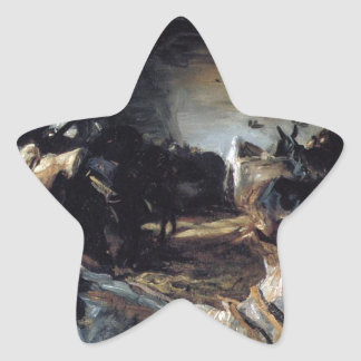 Stable at Cuenca by John Singer Sargent Star Sticker