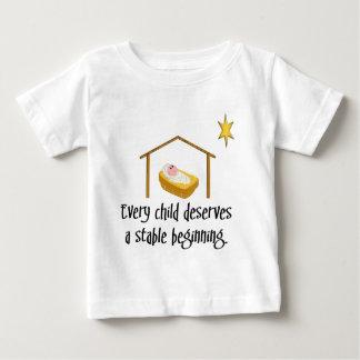Stable beginning baby T-Shirt