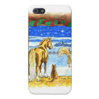 Stable Christmas iPhone 5 Cover