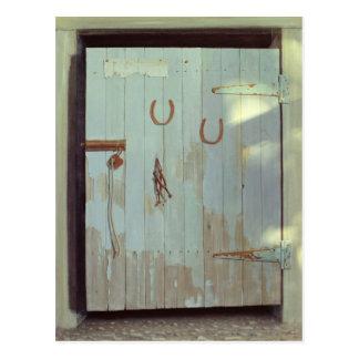 Stable Door 1990 Postcard