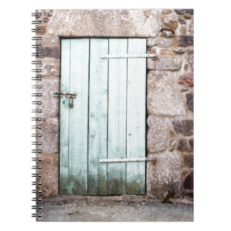Stable Door and Stone Wall Spiral Notebook