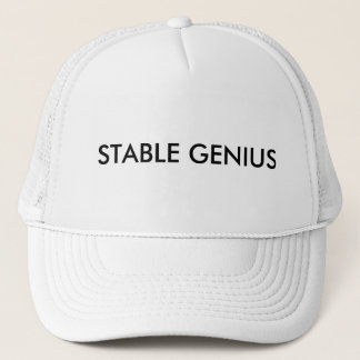 Stable Genius Trucker Hat