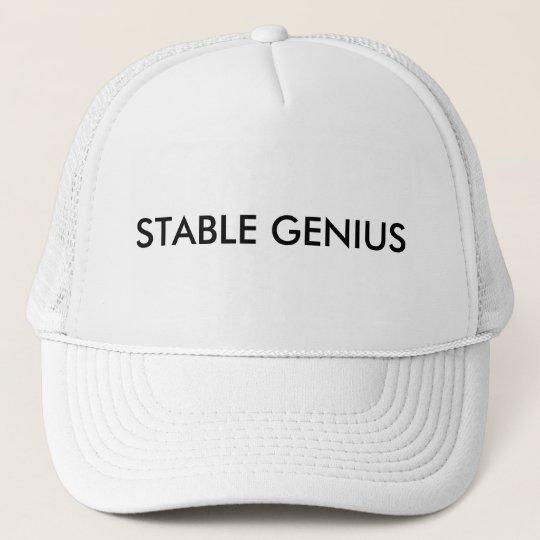 Stable Genius Trucker Hat