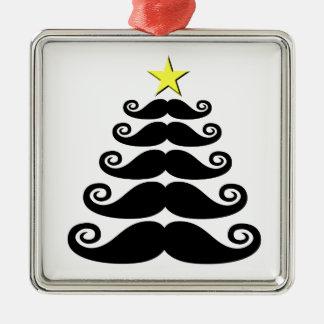 Stache-mas Tree Christmas Ornament