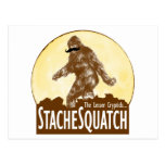 'STACHE SQUATCH The Lesser Cryptid - Funny Bigfoot