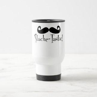 'Stache-tastic Travel Mug