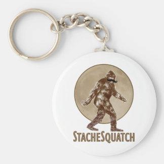 STACHESQUATCH I Mustache if you ve Seen My Squatch Keychain