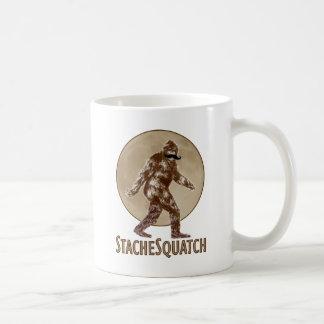 STACHESQUATCH I Mustache if you've Seen My Squatch Basic White Mug