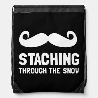 Staching Through Snow Rucksack