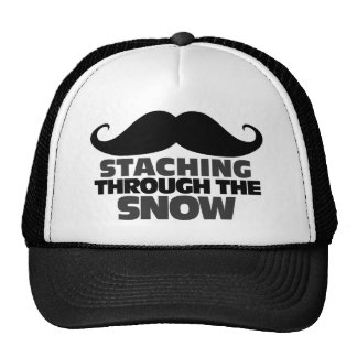 Staching through the Snow Hats