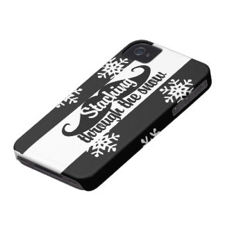 Staching through the snow iPhone 4 case