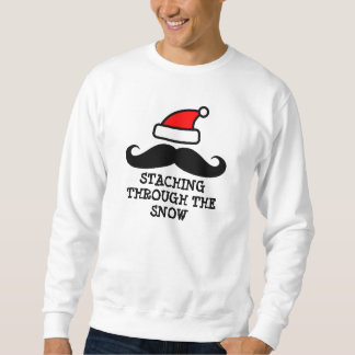 Staching through the snow | Christmas sweater