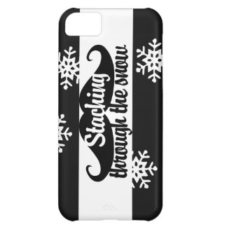 Staching through the snow iPhone 5C case