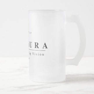 Stachura Stine! Frosted Glass Beer Mug