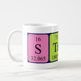 Staci periodic table name mug
