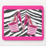 Stack 'em High Pink Platforms Mousepads